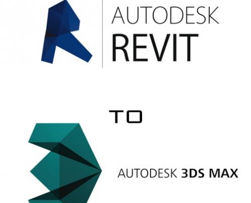 فایل Revit به داخل 3ds Max